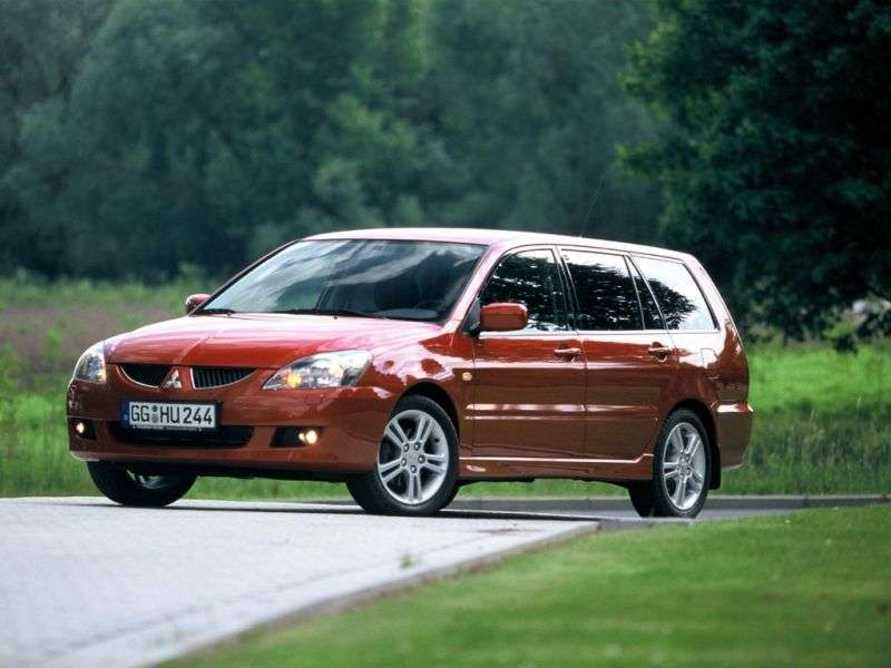 Mitsubishi Lancer 6th generation [restyling] wagon 1.8 CVT (2003–2004)