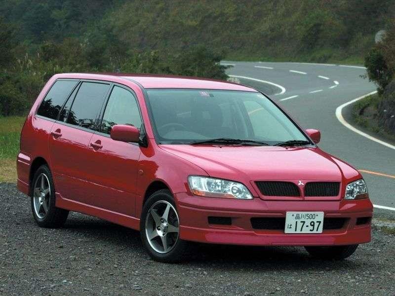 Mitsubishi Lancer 6th generation Cedia wagon 1.8 CVT 4WD (2000–2003)