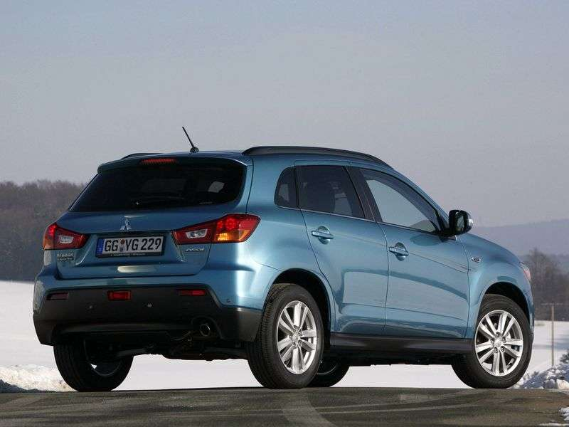 Mitsubishi ASX 1st generation crossover 1.8 CVT 2WD Instyle S11 (2010–2012)