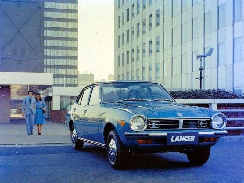 Mitsubishi Lancer A70sedan 4 dv. 1.4 4MT (1973–1974)