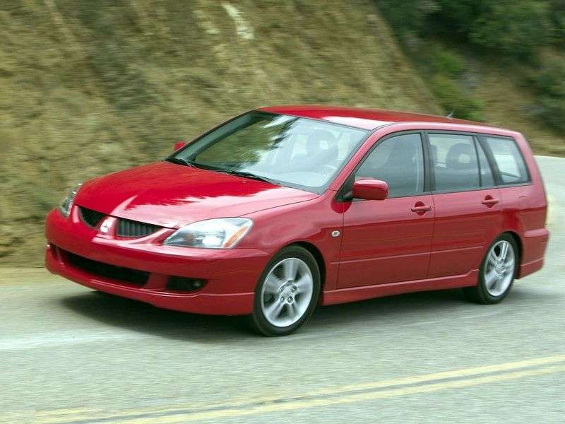 Mitsubishi Lancer 6th generation [restyling] wagon 1.5 CVT (2003–2005)