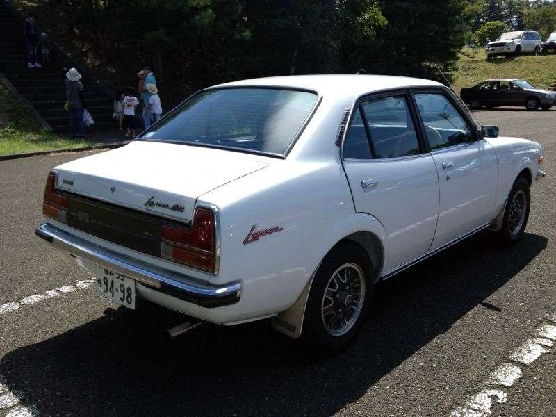 Mitsubishi Lancer A70 [restyling] 4 door sedan. 1.4 AT (1974–1975)