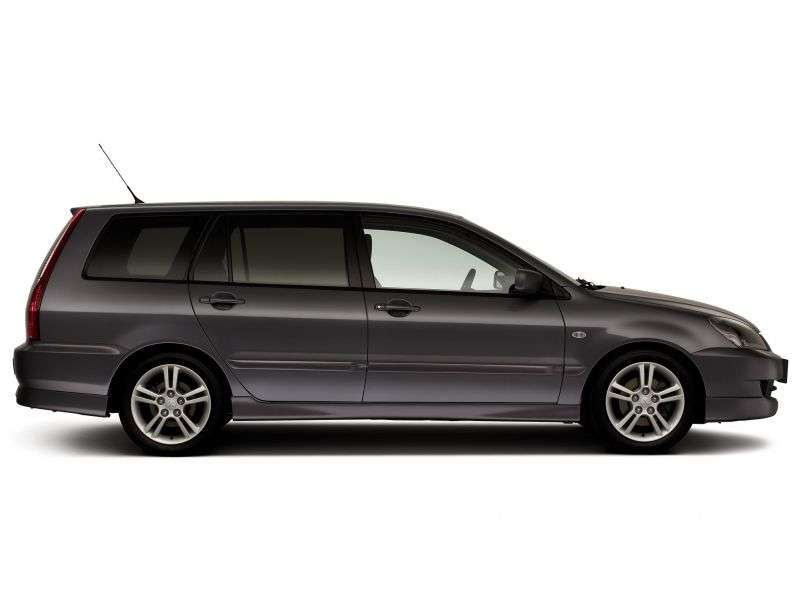 Mitsubishi Lancer 6th generation [2nd restyling] station wagon 1.6 AT (2005–2007)