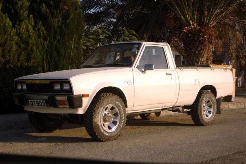Mitsubishi L200 1st generation [restyling] pickup 2.0 MT 4WD (1981–1986)