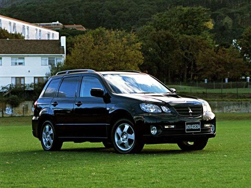Mitsubishi Airtrek 1st generation 5 bit crossover. 2.4 GDI AT 4WD (2001–2003)