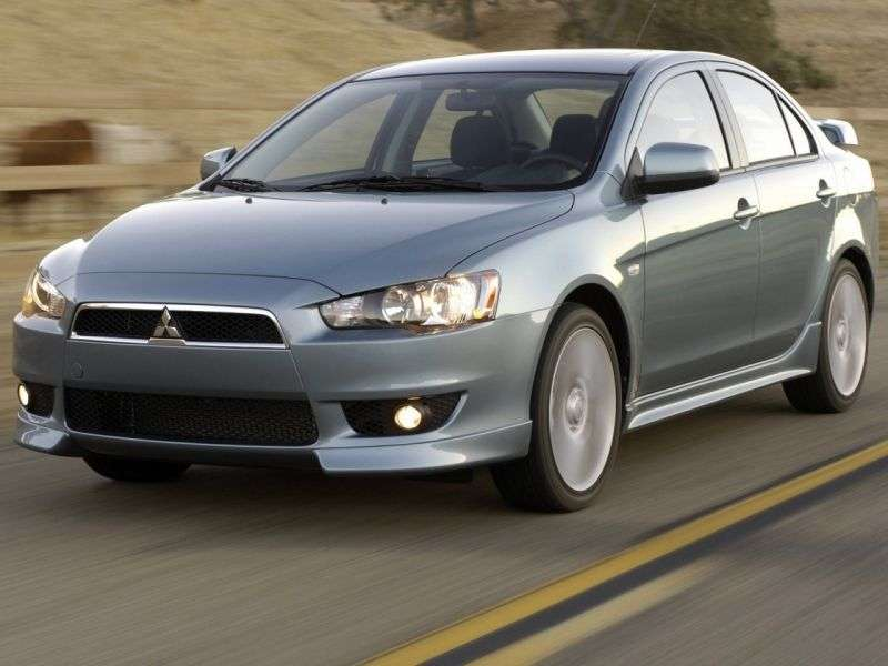 Mitsubishi Lancer 7 generation 4 door sedan. 1.8 CVT (2007–2010)