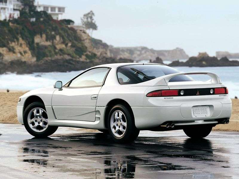 Mitsubishi 3000 GT 2nd generation coupe 3.0 AT (1990–1993)