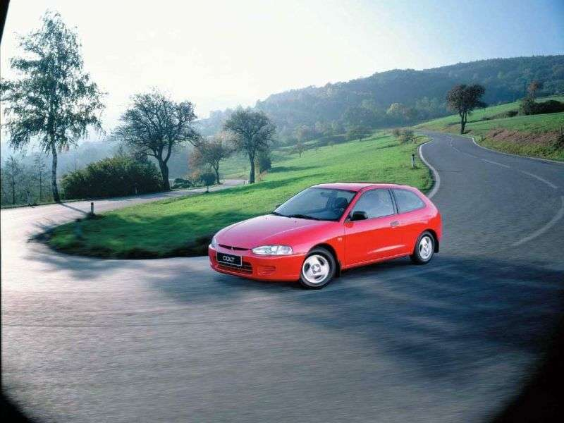Mitsubishi Colt CJOHetchback 1.3 AT (1996–2000)