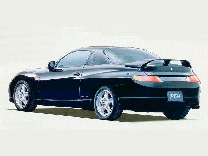 Mitsubishi FTO 1st generation coupe 2.0 MT (1994 – n.)