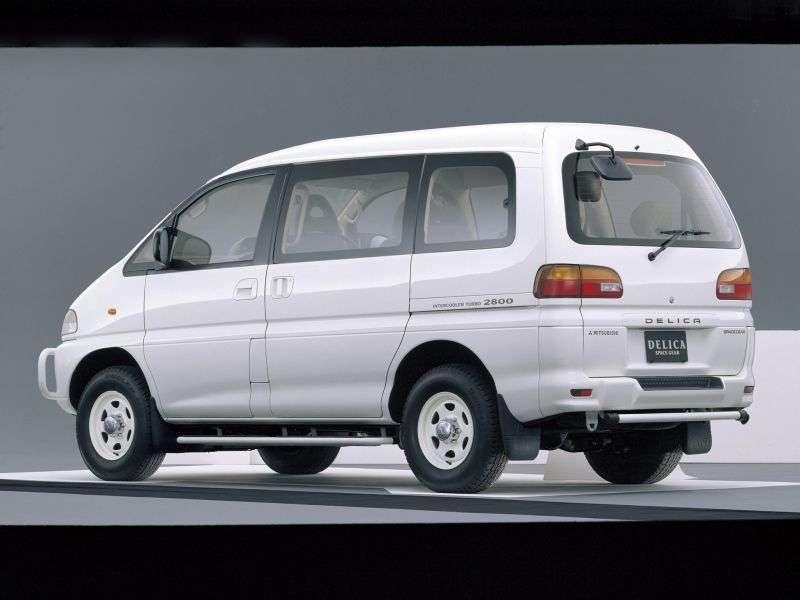 Mitsubishi Delica minivan 4. generacji 2.8 TD MT 4WD (1995 1997)