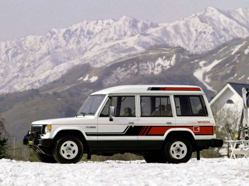 Mitsubishi Pajero 1st generation Wagon High Roof SUV 5 dv. 2.3 TD MT (1983–1986)