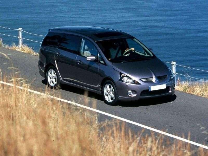 Mitsubishi Grandis 1st generation minivan 2.4 AT 4WD (2003–2011)