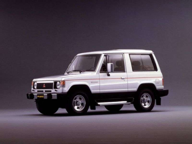 Mitsubishi Pajero 1st generation Metal Top SUV 3 dv. 2.0 Turbo AT (1982–1991)