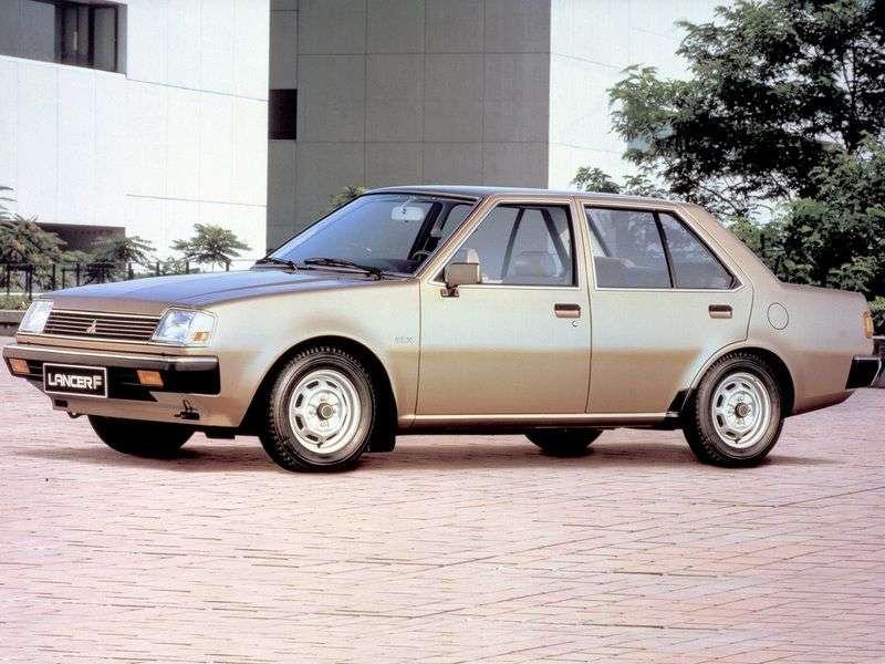 Mitsubishi Lancer Fiore sedan 1.generacji 1.5 MT (1982 1983)