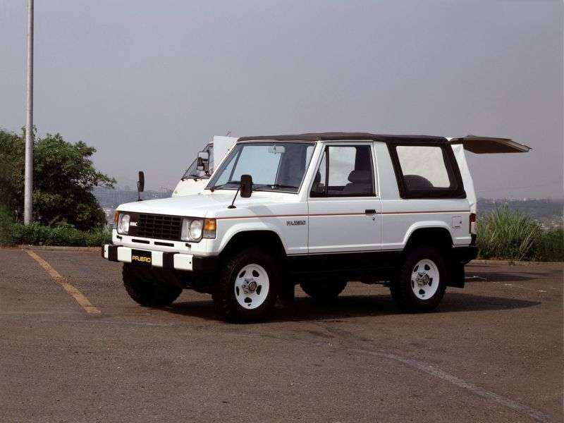 Mitsubishi Pajero 1st generation Canvas Top SUV 2 doors 2.0 Turbo AT (1982–1991)