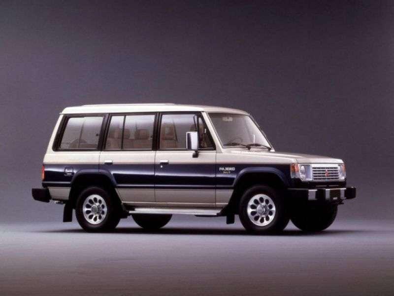 Mitsubishi Pajero 1st generation Wagon SUV 5 bit. 2.3 D MT (1983–1991)