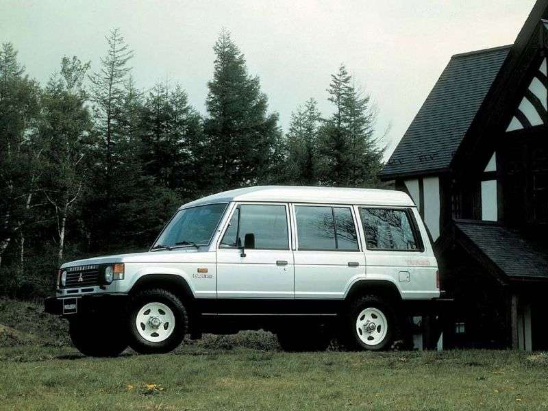 Mitsubishi Pajero 1st generation Wagon High Roof SUV 5 dv. 2.5 TD AT (1986–1991)