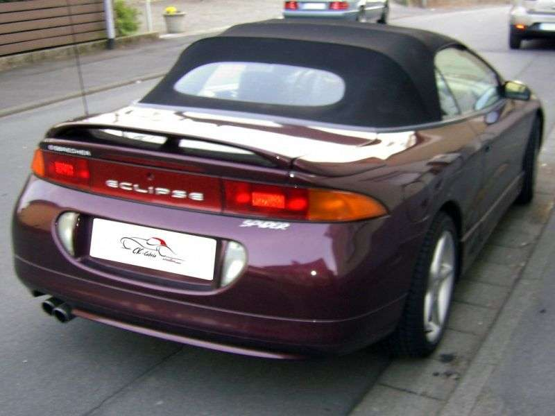 Mitsubishi Eclipse 2GSpyder 2.0 MT T Convertible (1996–1997)