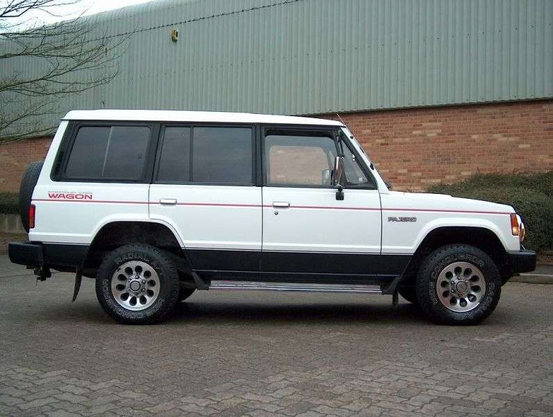 Mitsubishi Pajero 1st generation Wagon SUV 5 bit. 2.0 AT (1983–1991)