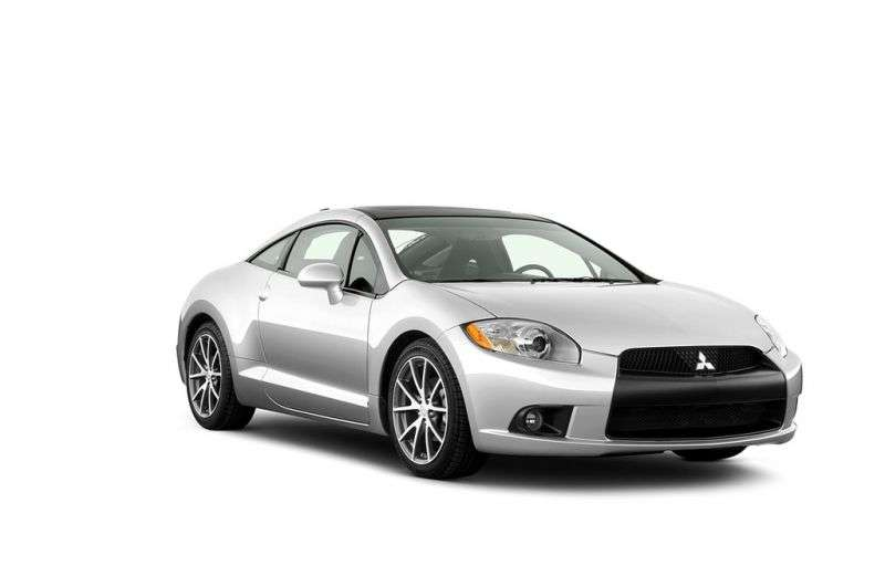 Mitsubishi Eclipse 4G [restyling] 2.4 Sportronic Coupe (2009–2011)