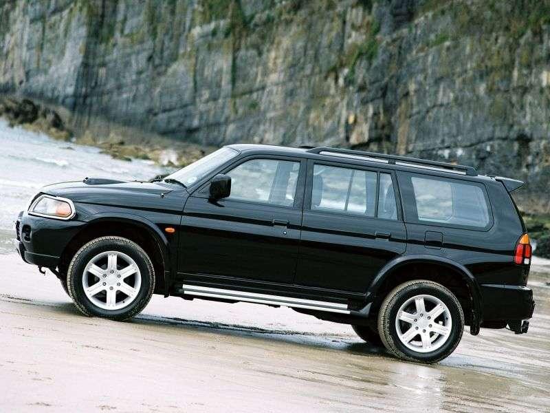 Mitsubishi Pajero Sport 1st generation SUV 3.0 MT (1996–2005)