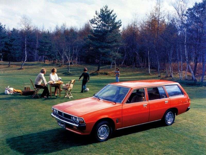 Mitsubishi Galant 3rd generation 1.6 MT wagon (1979–1980)