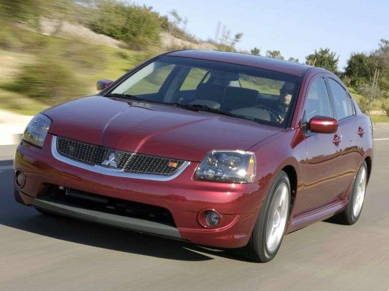 Mitsubishi Galant 9th generation [restyling] 3.8 sedan AT Ralliart (2007–2008)