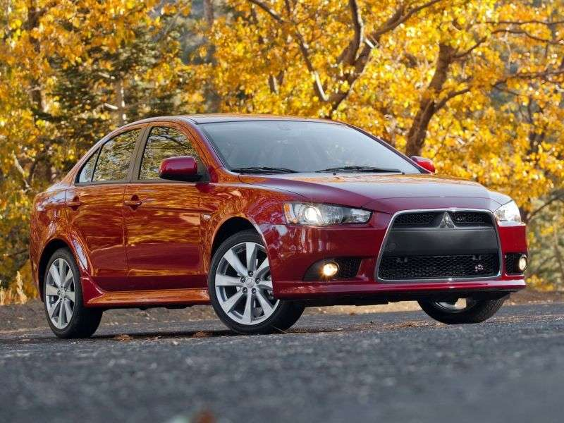 Mitsubishi Lancer 7th generation [restyling] 2.0 CVT sedan (2010–2012)