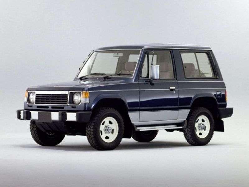 Mitsubishi Montero 1st generation SUV 3 dv. 2.6 MT (1982–1991)
