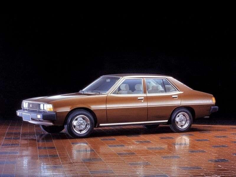 Mitsubishi Galant 3rd generation sedan 2.6 MT (1978 1980)