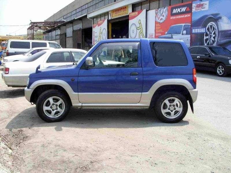 Mitsubishi Pajero Mini H53 / 58Av SUV 3 dv. 0.7 Turbo MT 2WD (1998–2005)