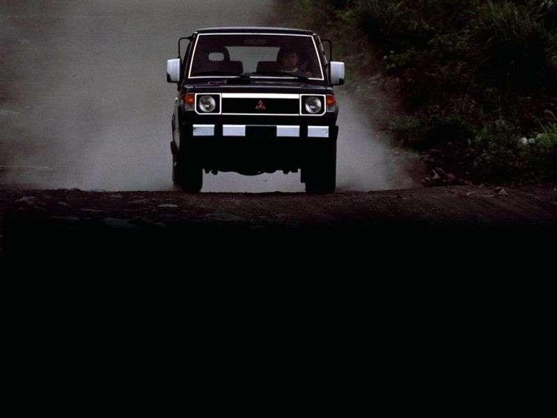 Mitsubishi Montero 1st generation SUV 3 dv. 3.0 MT (1988–1991)