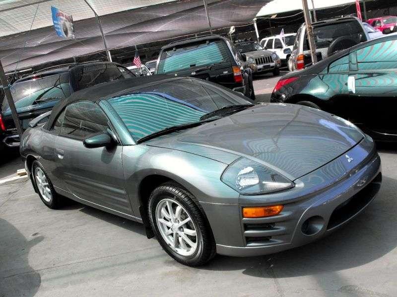 Mitsubishi Eclipse 3GSpyder 3.0 MT Convertible (2000–2005)