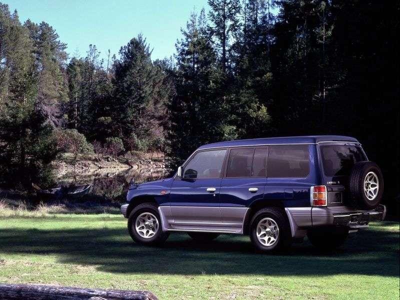 Mitsubishi Montero 3rd generation SUV 5 dv. 2.8 TD AT (1999–2003)