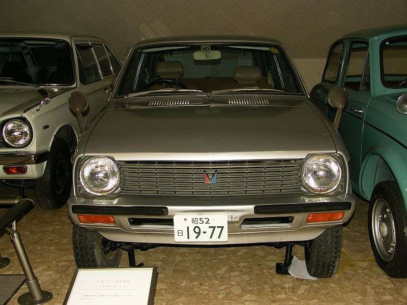 Mitsubishi Minica 4th generation Ami 55 hatchback 0.5 MT XL (1977–1981)