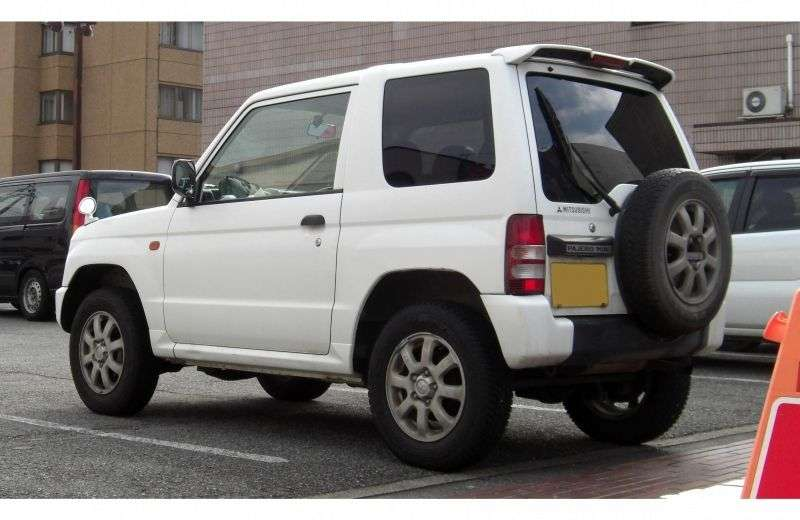 Mitsubishi Pajero Mini H51 / 56A SUV 0,7 Turbo AT 4WD (1997 1998)