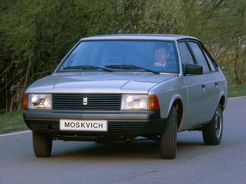 Moskvich 2141 1st generation hatchback 1.5 MT (1987–1997)