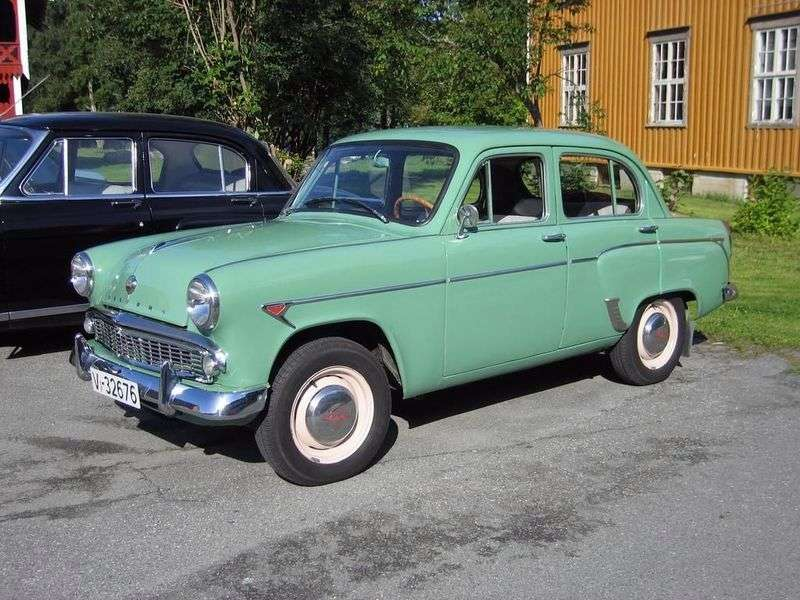 Moskvich 407 1st generation 1.4 MT sedan (1958–1963)