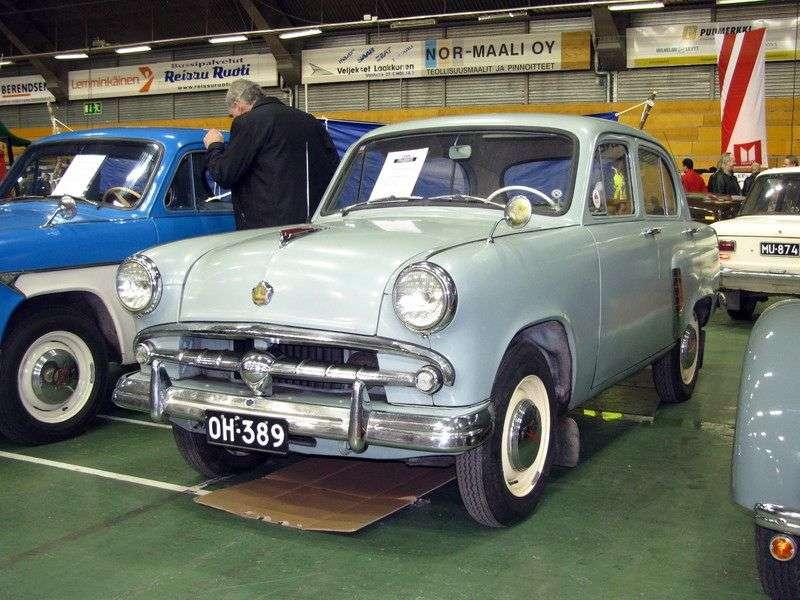 Moskvich 402 1st generation 1.2 MT sedan (1956 1958)