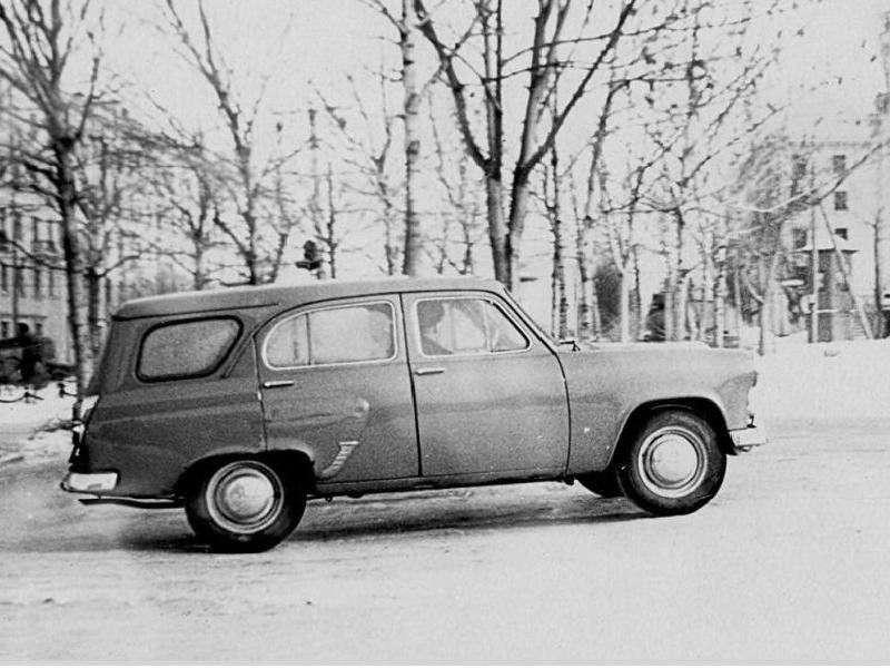 Moskvich 423 kombi 1.generacji 1.4 MT (1959 2000)