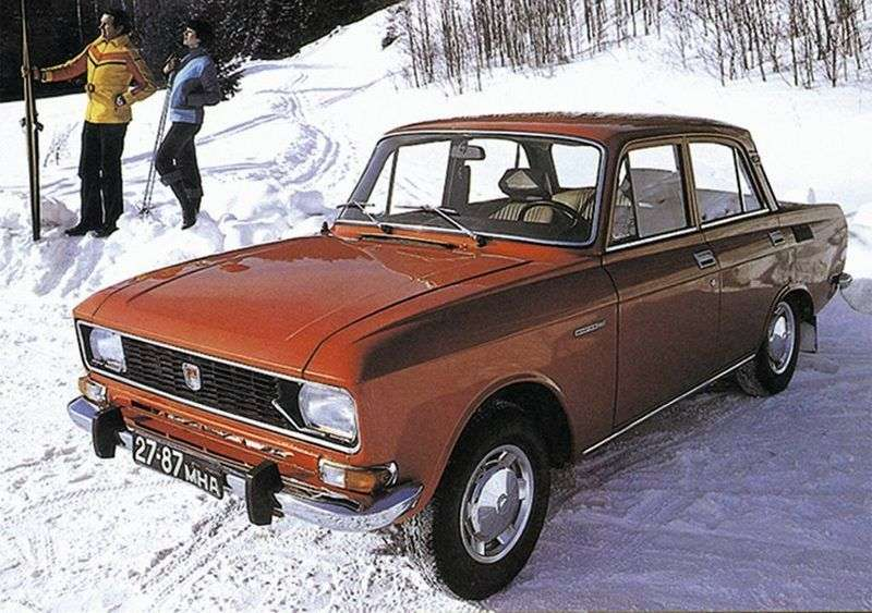 Moskvich 2138 1st generation 1.4 MT sedan (1976–1987)