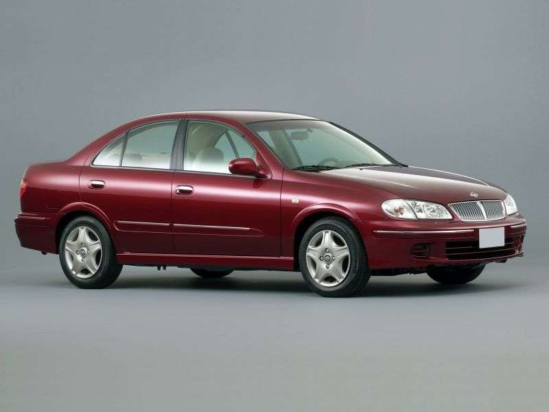 Nissan Bluebird G10sedan 1.8 AT (2000–2005)