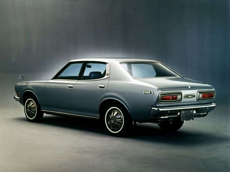 Nissan Bluebird 610 sedan 1.8 SSS 5MT (1972–1973)