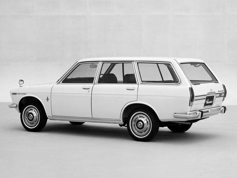 Nissan Bluebird 510universal 1.3 3MT (1967–1972)