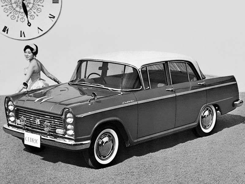 Nissan Cedric 30 Sedan 1.9 MT (1960–1962)