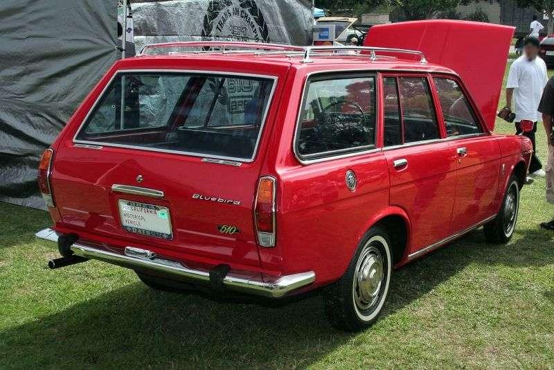 Nissan Bluebird 510universal 1.3 4MT (1968–1972)