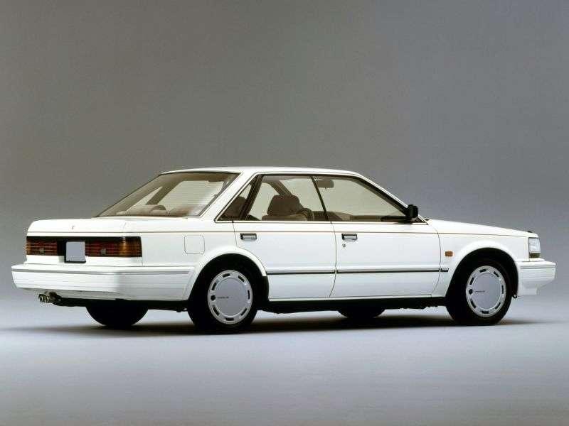 Nissan Bluebird U11 [restyling] 1.6 MT hardtop (1988–1990)
