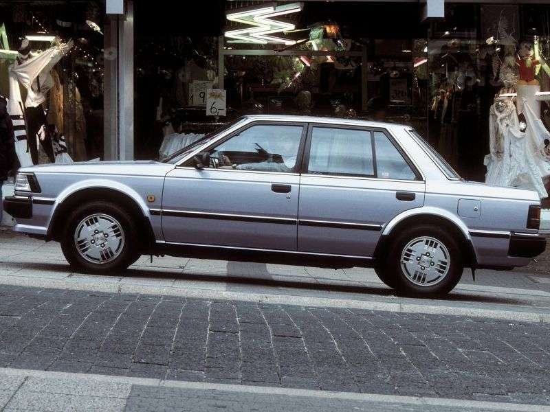Nissan Bluebird U11sedan 2.0i MT (1984–1985)
