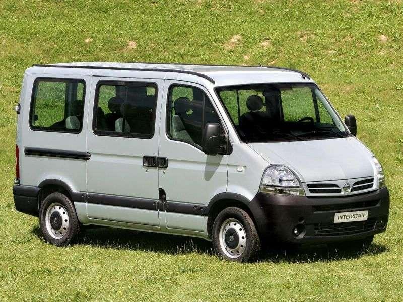 Nissan Interstar 1st generation [restyling] Minibus 2.5 dCi MT L2H2 (2003–2010)