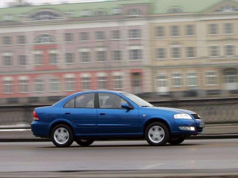 Nissan Almera Classic B10 sedan 1.6 MT SE (     J) (2012) (2006 – present)